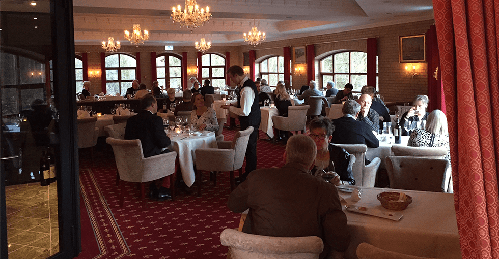 restauranten i hotell Amerika