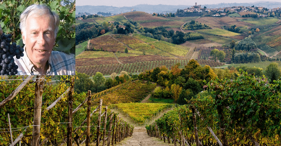 Finn Kolderup + vinmarker i Piemonte