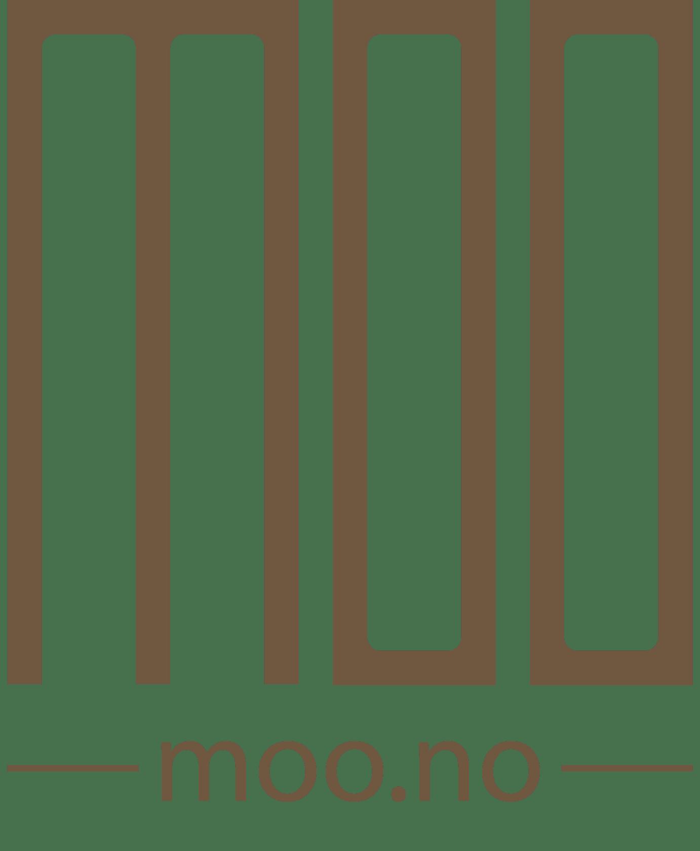 Brun MOO-logo