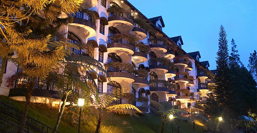 hotellet med masse balkonger