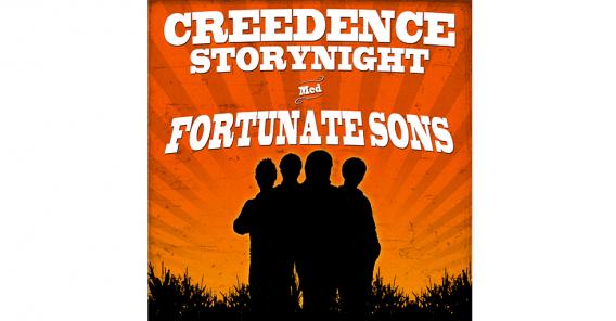 plakat; Creedence Storynight