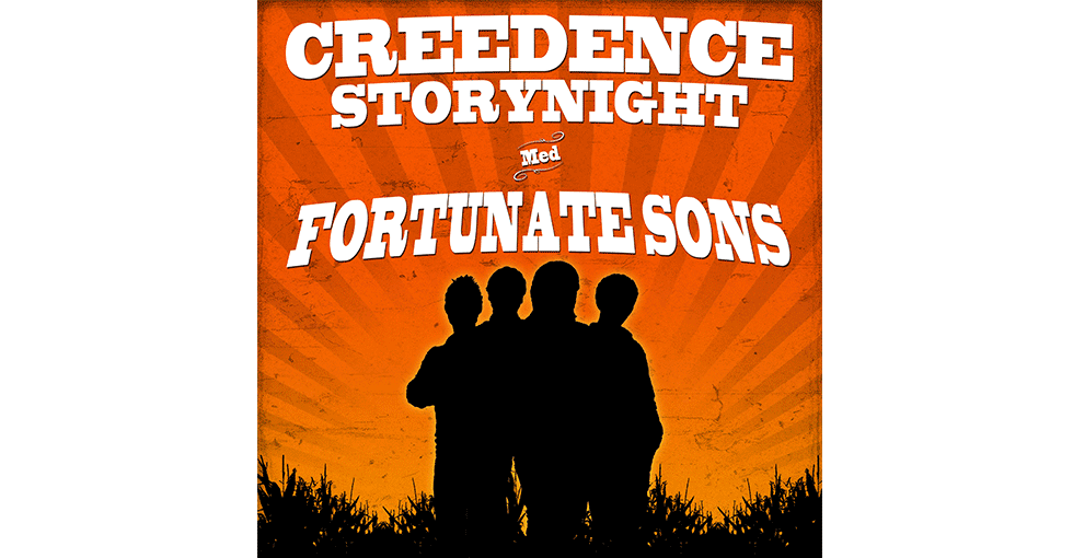 plakat; Creedence Storynight