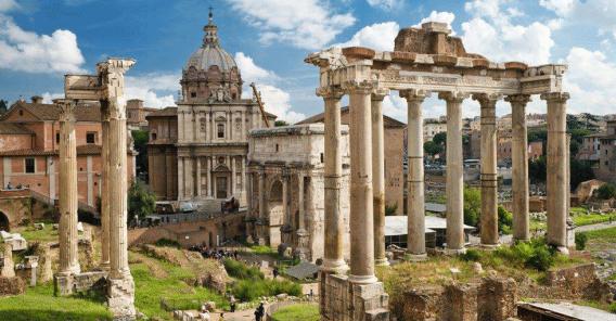 Romerske ruiner