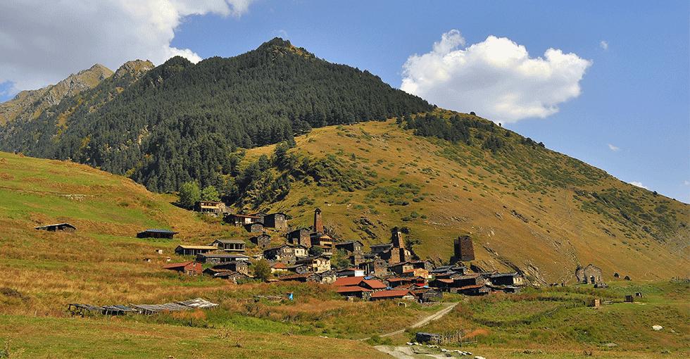 landsby i Georgia
