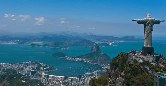 jesus-statuen i Rio de Janeiro