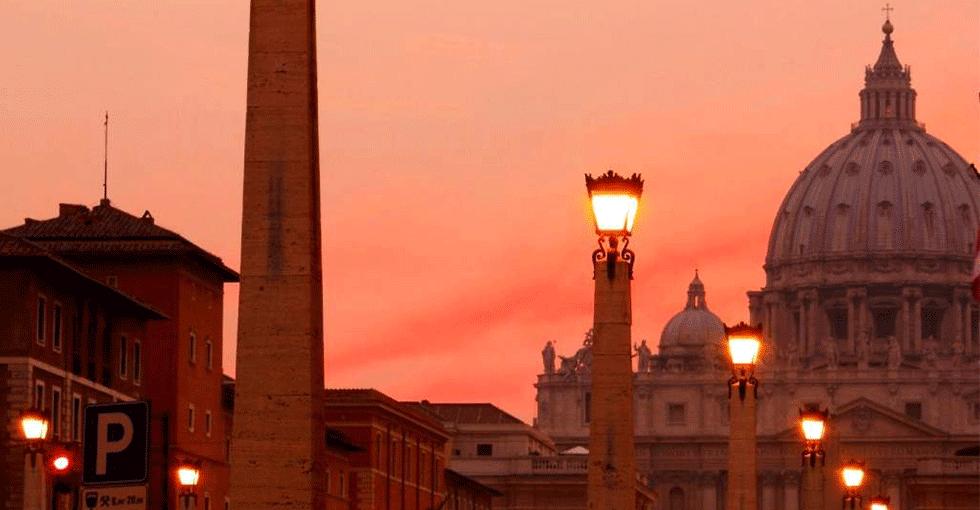 Roma i kveldssol