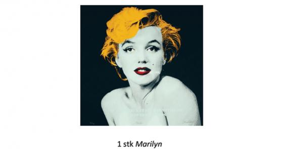 Marlyn Monroe av Unni Askeland