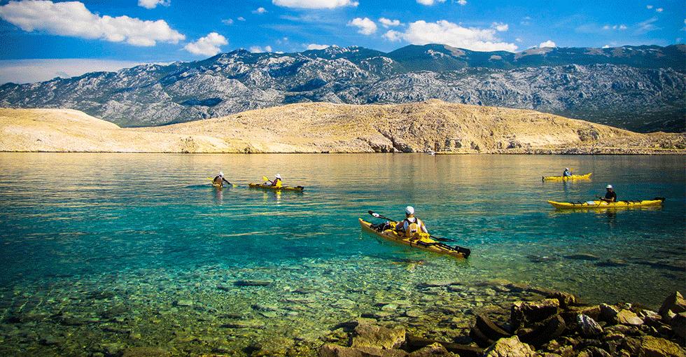 padletur i Kroatia