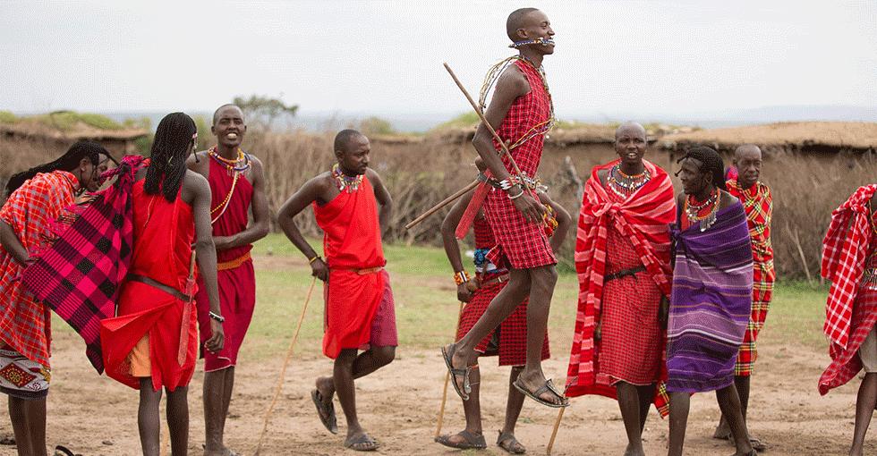 Innfødte som danser