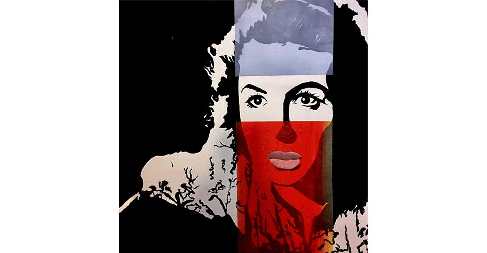 Kunst av Unni Askeland. Ingrid Bergmann