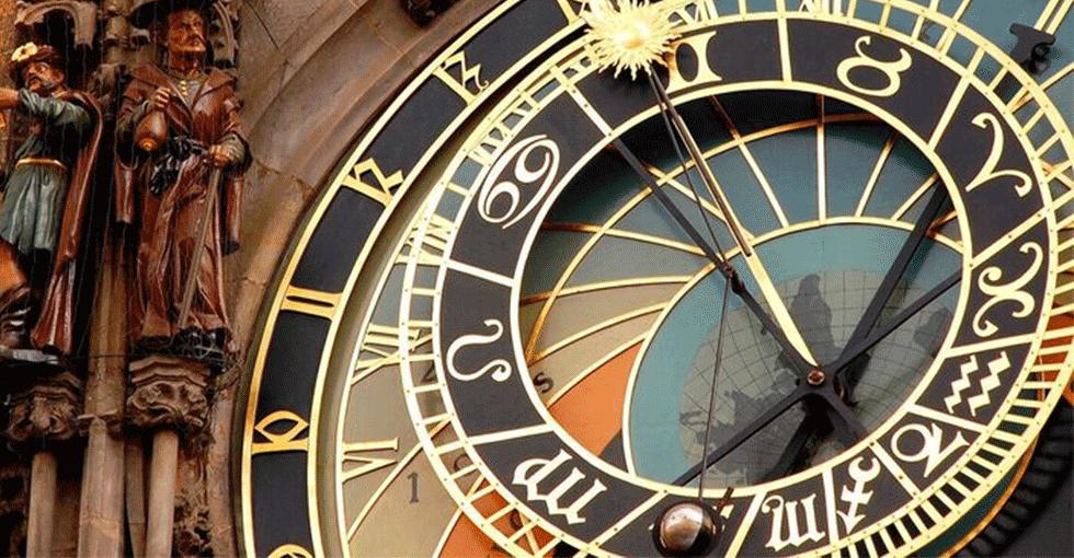 klokke i Praha