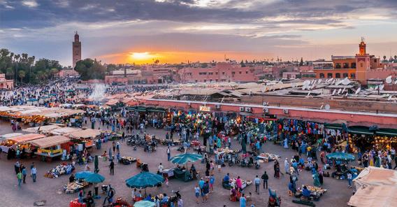 marked i Marokko