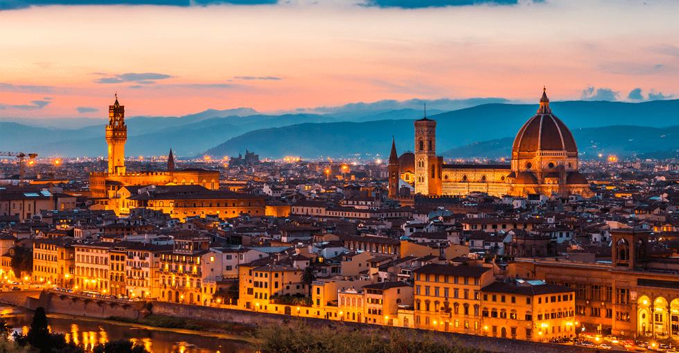 utsikt over Toscana