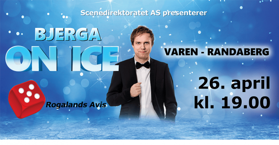 plakat Bjerga on ice