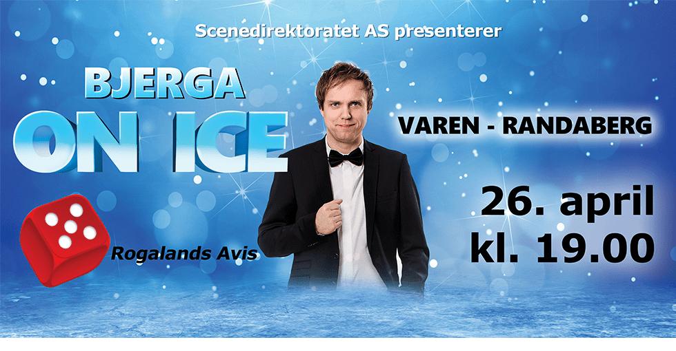 plakat Bjerga on ice