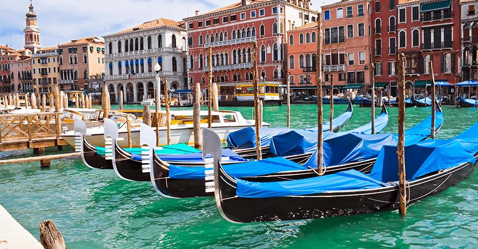 Gonddoler i Venezia