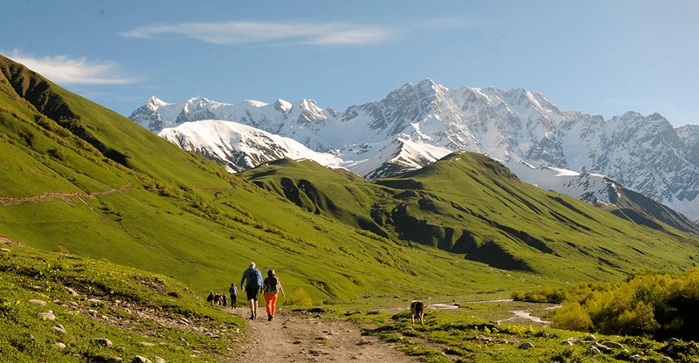 flotte fjell i fantastisk turterreng