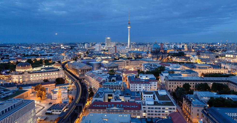 utsikt over Berlin