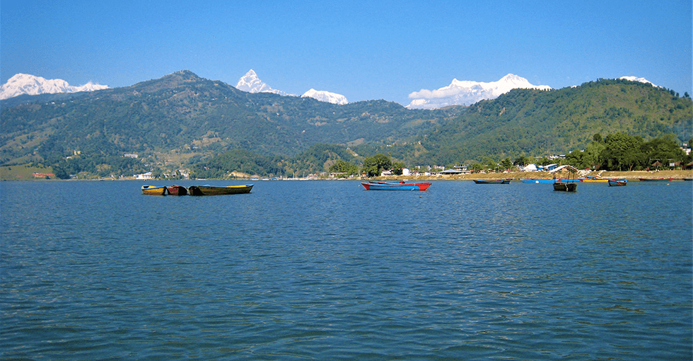 båter på vannet