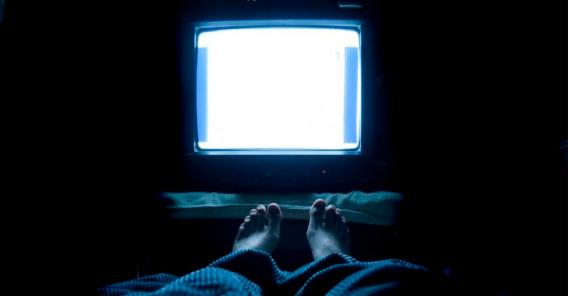 TV-skjerm