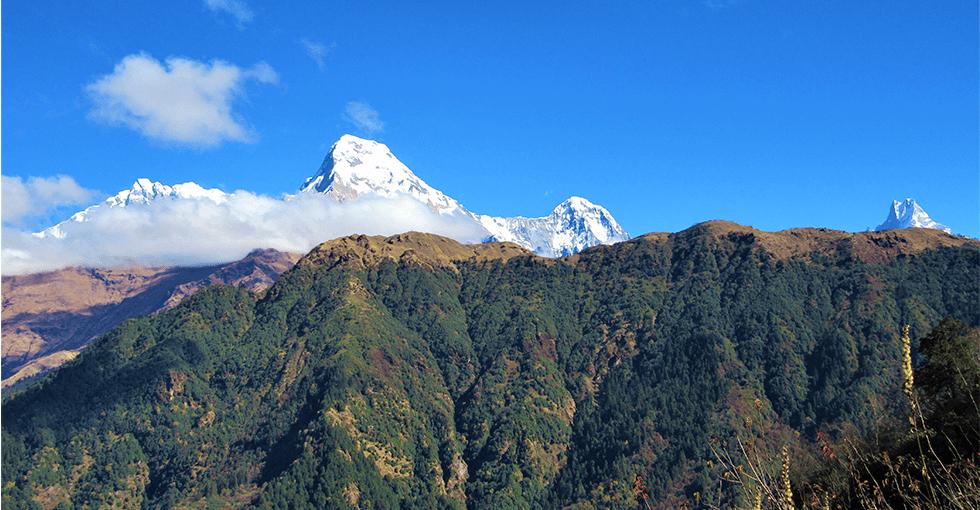 Fjell i Nepal