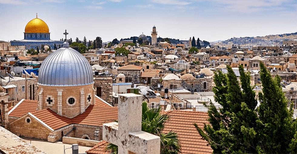 utsikt over Jerusalem