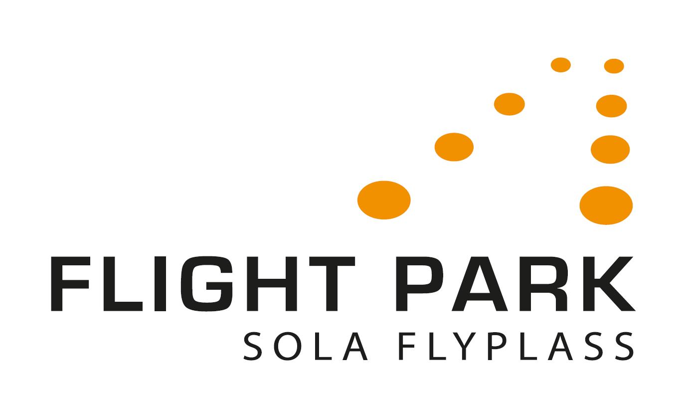 logo Flight park, sola flyplass