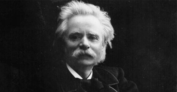 Edvard Grieg. Bildet eies av Bergen offentlig bibliotek