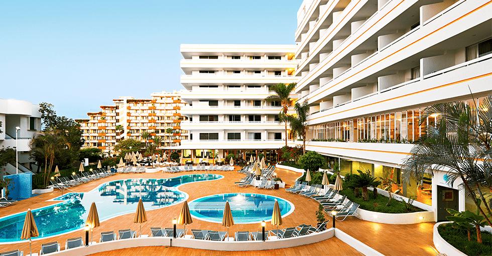 Hotellet med basseng