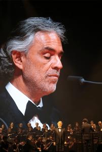 Andrea Bocelli på scenen