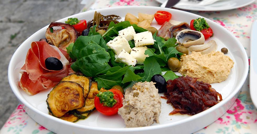mat på en tallerken