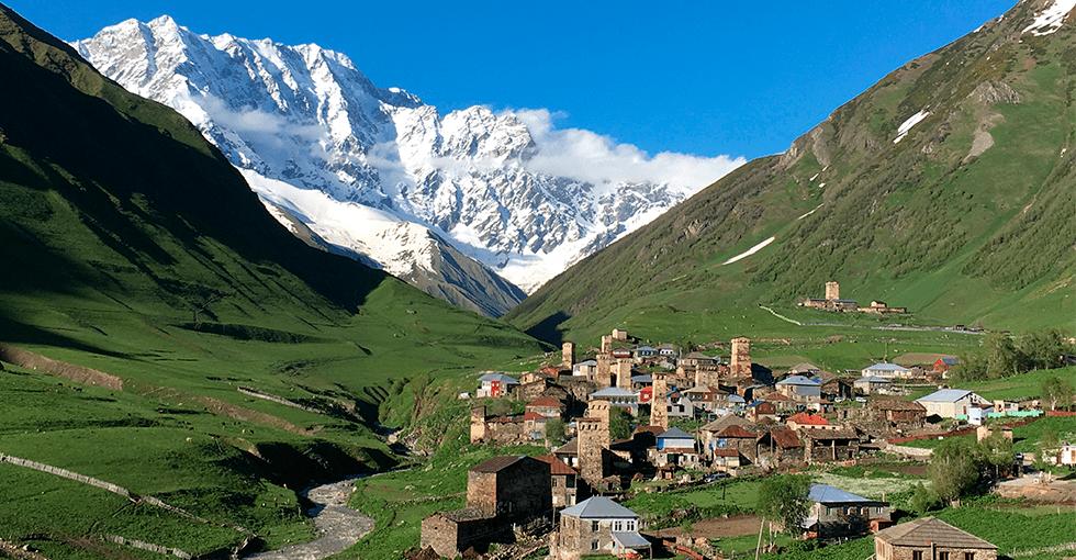 landsby i dalsøkk