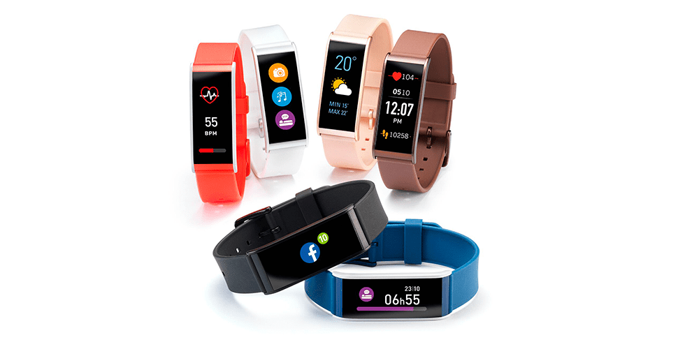 Enkle smartklokker i ulike farger