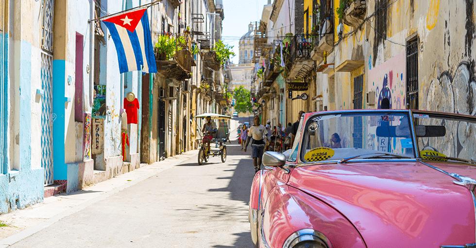 i Cubas vanlige gater